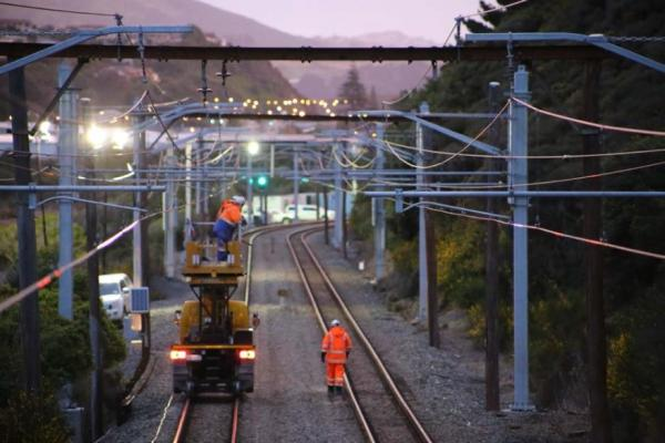 Kiwirail Electrification Programme  Auckland And